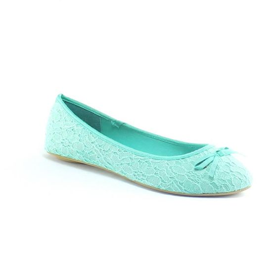 Bailarinas verde esmeralda - Vives shoes