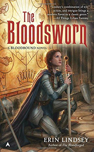 The Bloodsworn (A Bloodbound Novel) by Erin Lindsey. The bonds of family, love, and loyalty are pushed to their limits in this thrilling conclusion to the epic saga started in The Bloodbound ... As the war between Alden and Oridia draws to an end, the fates of both kingdoms rest on the actions of a select group of individuals—and, of course, on the unbreakable bonds of blood... Unbeknownst to most of Alden, King Erik, in thrall to a cruel bloodbinder, is locked away in his own palace...