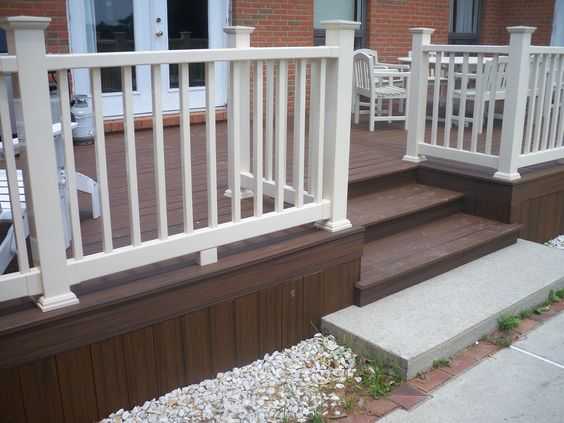 Vinyls Vinyl Railing And Vinyl Deck Railing On Pinterest