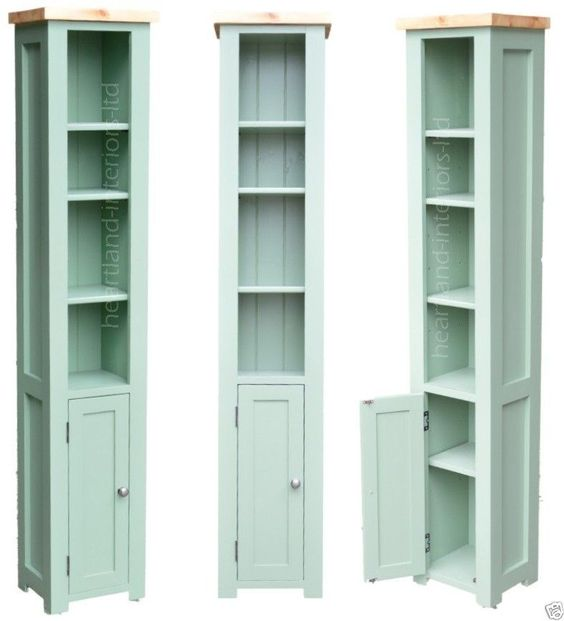 ... Narrow Bookcase with Cupboard | Bookcases, Solid wood and Cupboards