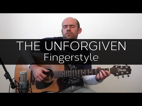 The Unforgiven Metallica Acoustic Guitar Solo Cover Fingerstyle Youtube Acoustic Guitar Unforgiven Metallica Guitar Solo