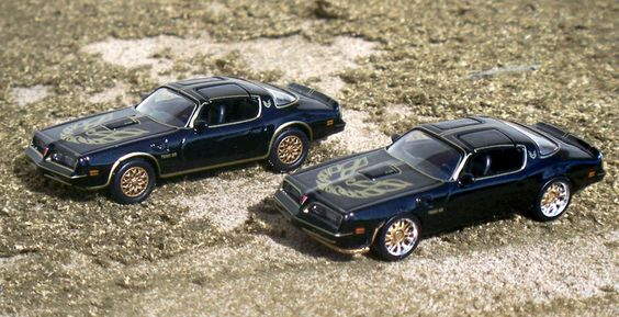 HO Scale Pontiac Firebird Smokey And The Bandit Edition.  #Pontiac #Firebird #Smokey #Bandit