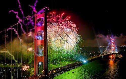 75th Birthday of the Golden Gate bridge, SF, CA