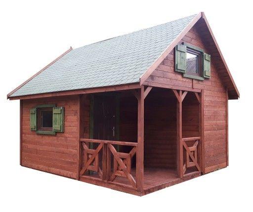 Domek Letniskowy Drewniany Bez Pozwoleni Domki 5x5 9037600212 Allegro Pl House Styles House Cabin