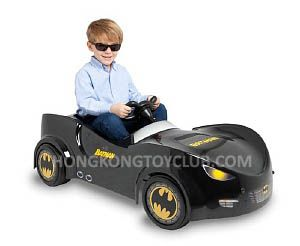Here comes the Bat Mobil!