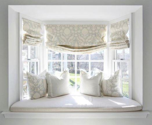 Window Seat Window Cushion Pillows Bay Window Living Room Window Treatments Living Room Curtains Living Room