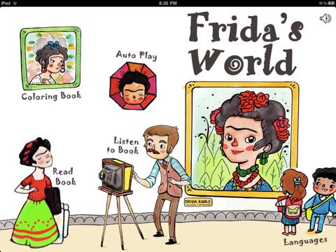 New Children's App: Frida's World : Funky, Fine, & Fabulous Finds Mogulbaby.com