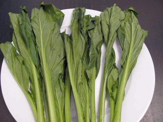 Asian Vegetables »Flowering Brassica »Yu Choy Sum Seeds - This the Early Variety - Organic