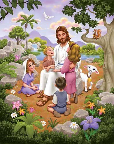 primária | Cristo e as crianças | primary |