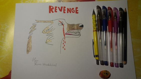 Wounded Leaf's Revenge by me. Do not repin!