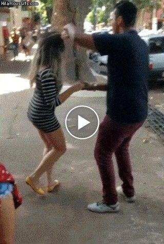Dança Dos Famosos na Rua