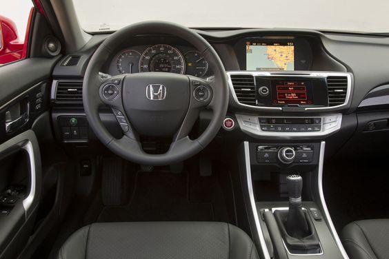 Honda Accord Coupe 2015 in Manual Transmission V6
