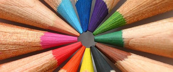 Creative Coloured Pencils Images