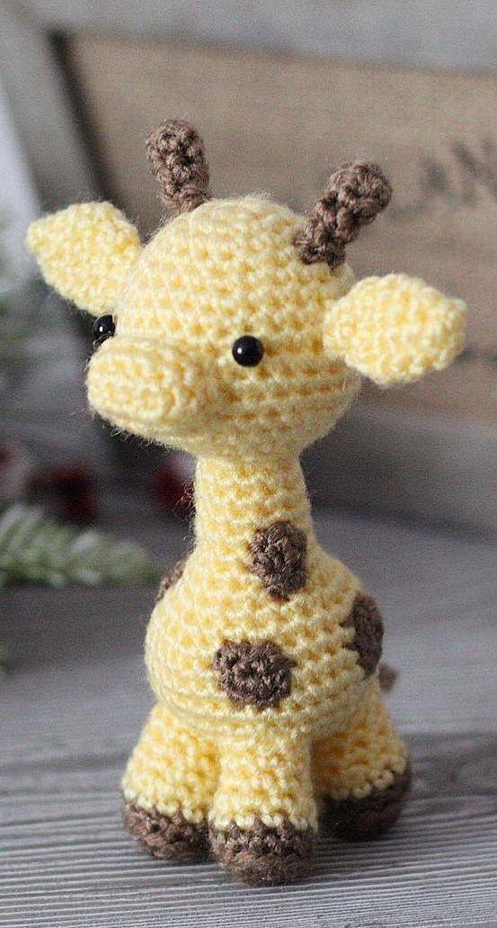 Naughty giraffe amigurumi pattern   Jirafa amigurumi, Patrones ...   1031x553