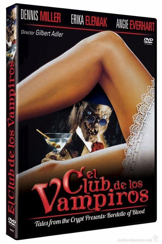 El Club de los Vampiros DVD 1996 Tales from the Crypt Presents: Bordello of Blood