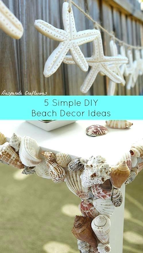 Diy Beach Decor Simple Ideas Wedding Decoration Diy Beach Decor