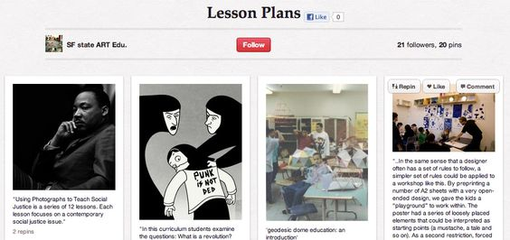 Teaching Online with Pinterest, via the Official Pinterest Blog