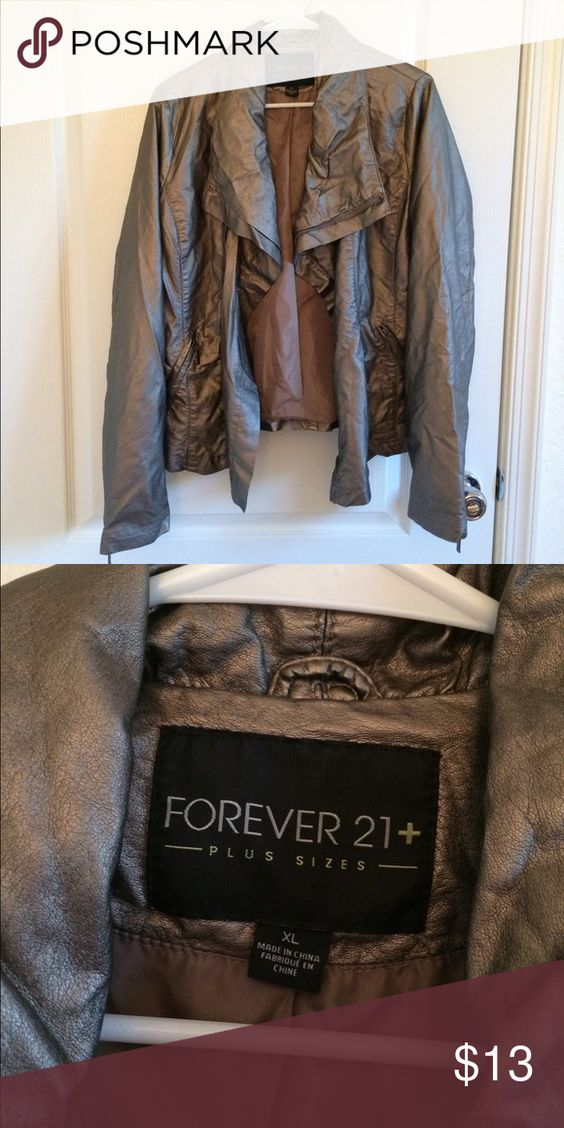 CLOSET CLOSING! Forever 21 Jacket Great condition! Make an offer! Forever 21 Jackets & Coats
