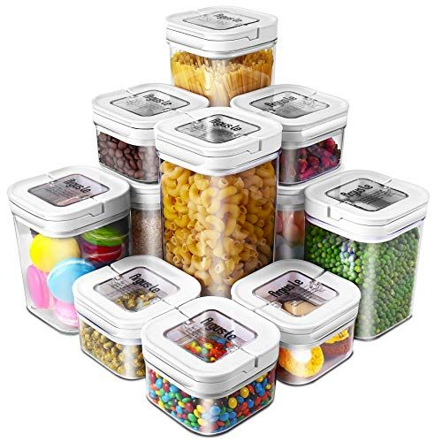 Airtight Food Storage Containers Argus Le 11 Pieces Bpa Https Www Amazon Airtight Food Storage Airtight Food Storage Containers Food Storage Containers