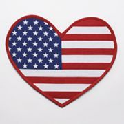 Americana Heart Placemat