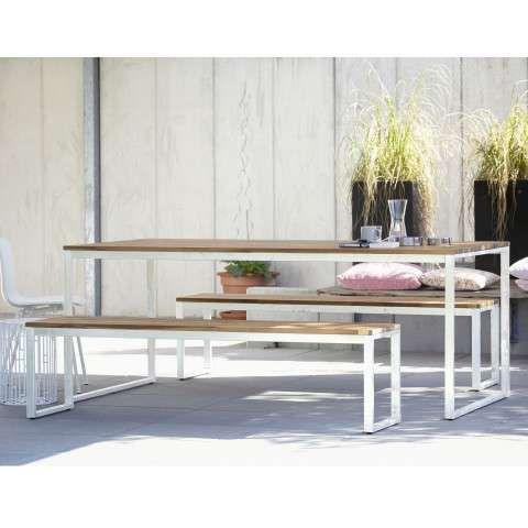 Stelle Tisch Weiss A057153 001 01 Gartenmobel Holz Gartenmobel Gartentisch