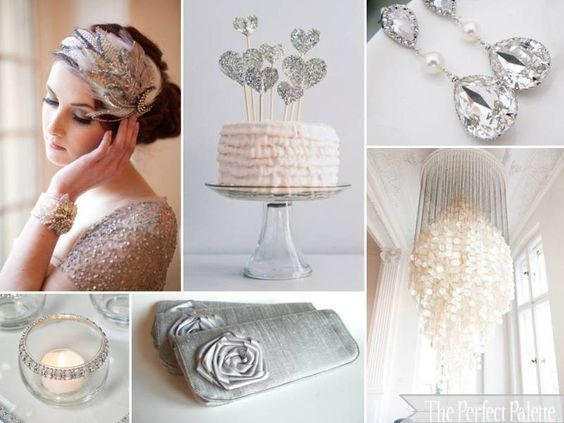 The Perfect Palette: {Shimmer + Shine}: A Palette of Gray, Silver + White
