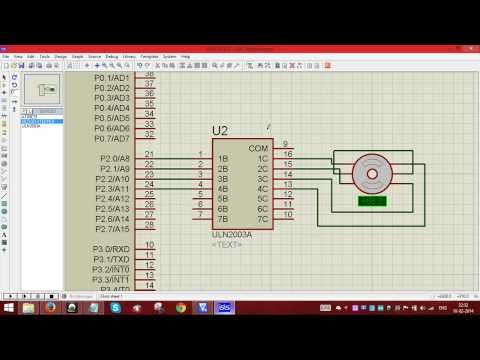 Stepper motor interfacing with 8051codesimulation youtube interfacing of unipolar stepper motor through 8051 in isis proteus youtube fandeluxe Choice Image