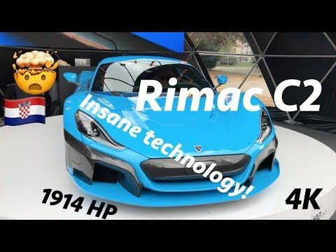 Rimac C Two First Look In 4k Presented In Zagreb Croatia Youtube Zagreb Croatia Zagreb Croatia