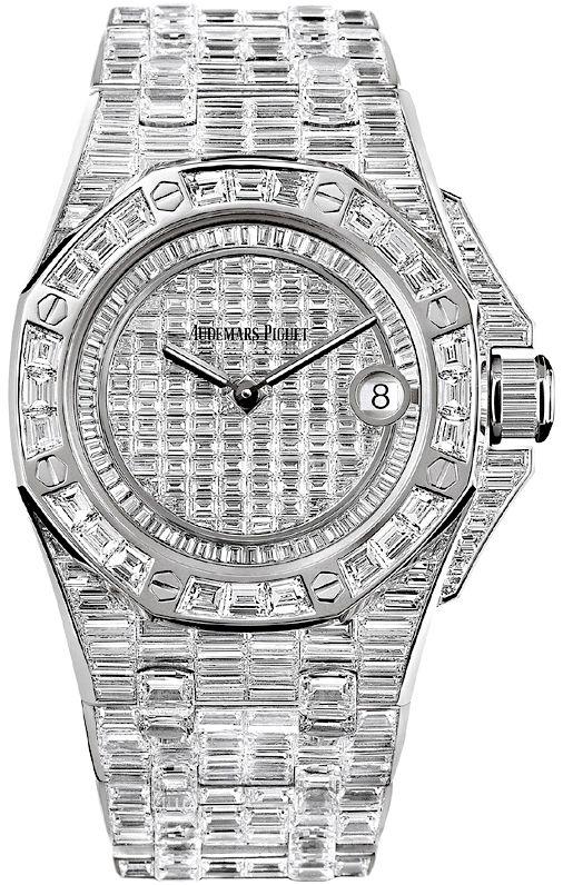 Audemars Piguet Royal Oak Offshore Quartz Watch 67543bc Zz 9185bc