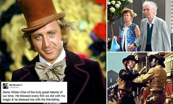 RIP to the one and only 'Willy Wonka' Gene Wilder . Gene Wilder, star of 'Willy Wonka', dies aged 83