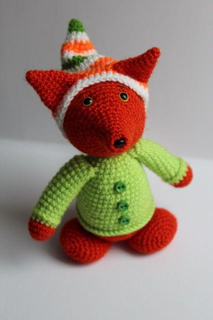 Amigurumi Fox - FREE Crochet Pattern / Tutorial crochet ...