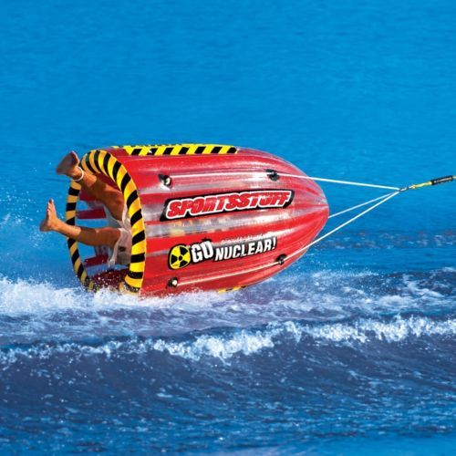 Towable-Tube-Inflatable-Water-Raft-Tubing-Ski-Boat-Float-Outdoor-Sports-Lake-New