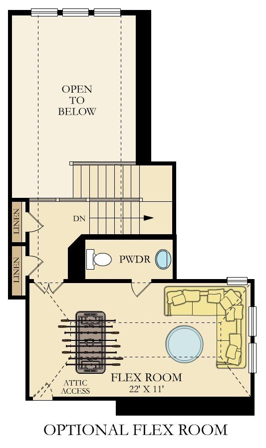 Giallo Ii Home Within A Home New Home Plan In Crescent Bluff Brookstone Ii New House Plans House Plans New Homes