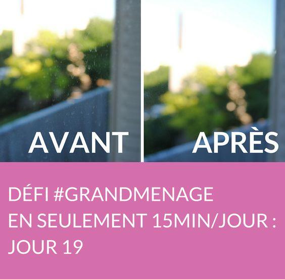 Jour 19 du défi #GRANDMENAGE : aujourd'hui, découvrez nos conseils pour nettoyer les vitres, les rideaux et les miroirs de votre salon ! Suivez jour après jour le défi #GRANDMENAGE de la rédac' : http://www.deco.fr/nettoyage/actualite-769410-defi-menage-15-minutes.html