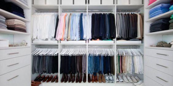 O segredo da organização do guarda-roupa: O mistério desvendado