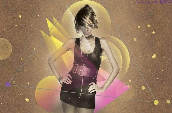Effect girl - Design by Nabeel Khan at touchtalent 28942