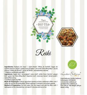 Bio Tea - Chás Biológicos Orgânicos - Bio Tea Reiki 150 Grs // Lendas Sublimes - Produtos Gourmet
