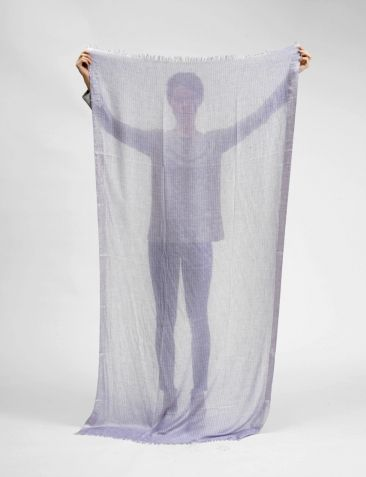 INOUITOOSH, cesar metallic scarf #SHOPBIRD15 #SS14