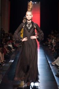JEAN PAUL GAULTIER HAUTE COUTURE FALL 2013 COLLECTION