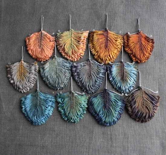 Tinted feathers
