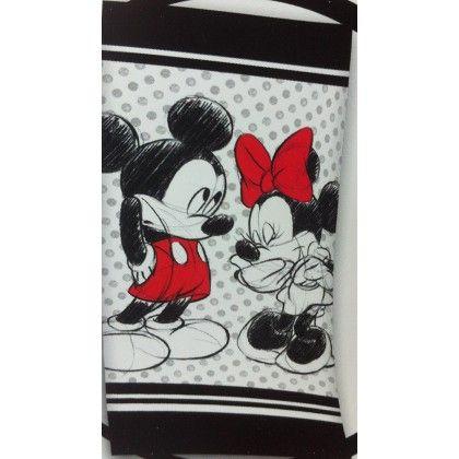 Banho - Toalha Praia Mickey Minnie - Loja Textil - A sua Loja Online