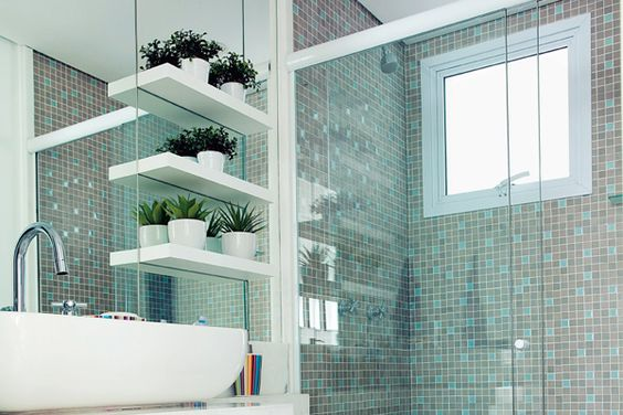 banheiro pequeno quadrado - Pesquisa Google