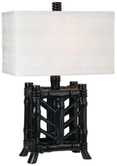 Rain Forest Bamboo Table Lamp - PacificCoastLighting.com