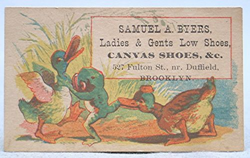 Vintage-Early-Victorian-Advertising-Trade-Card-Samuel-Byers-Canvas-Shoes