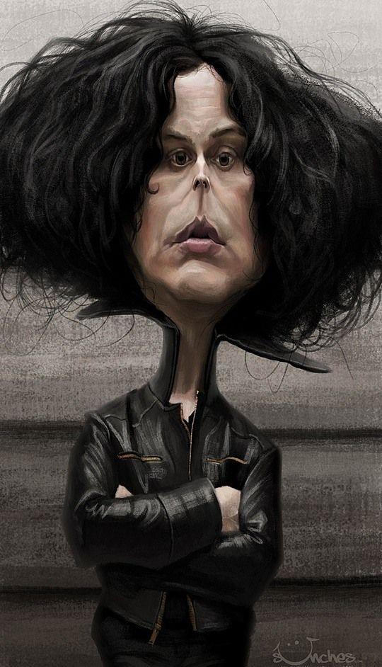 Celebrity Caricatures by Alexander Novoseltsev