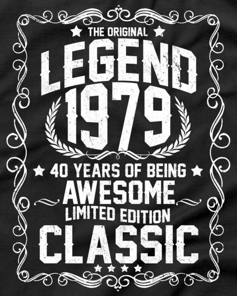 classic the original legend th birthday t shirt th