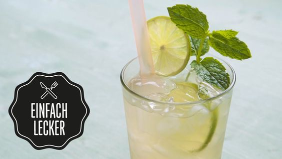 Hugo Grüner Tee (alkoholfrei) | Rezept | selber machen | #einfachlecker