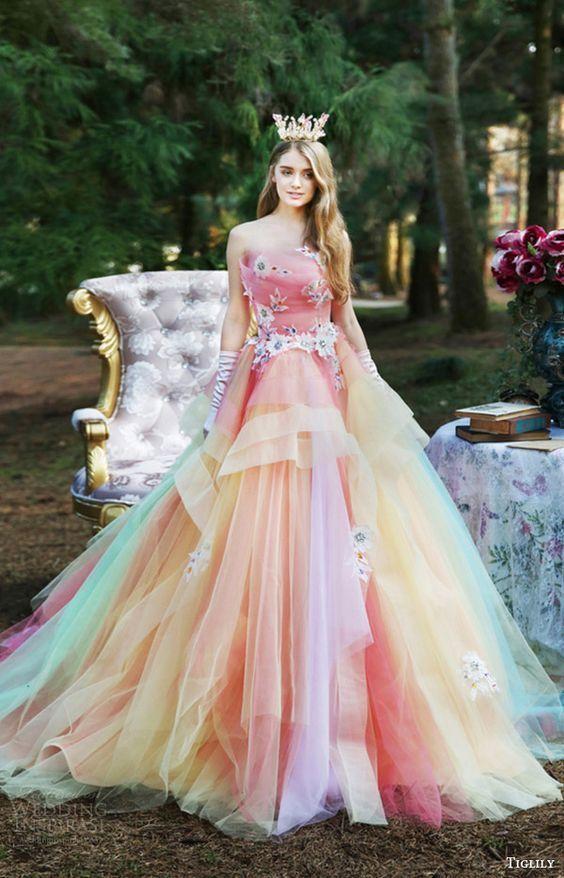 ぜーーーんぶ着たい♡『TIGLILY』の2016新作カラードレスは、どれもこれも可愛すぎ!!にて紹介している画像: