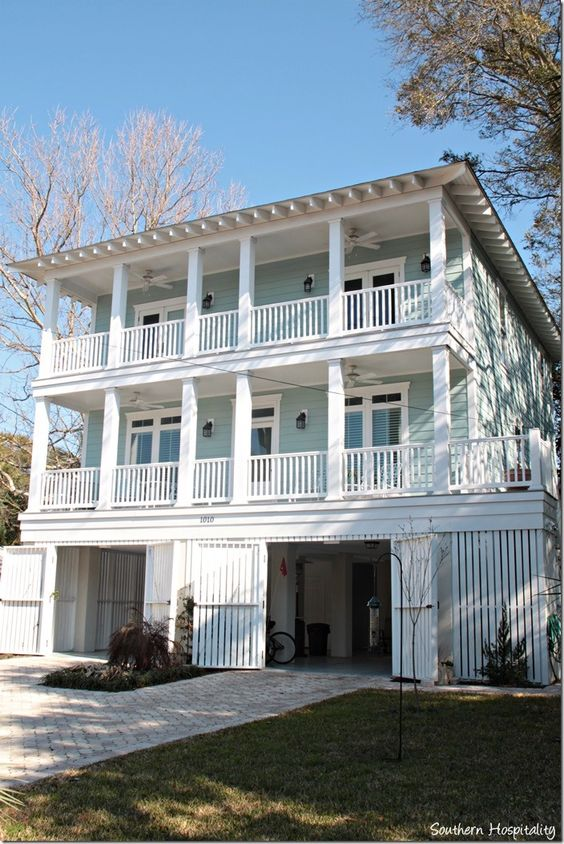 Pinterest the world s catalog of ideas for Island house plans on pilings