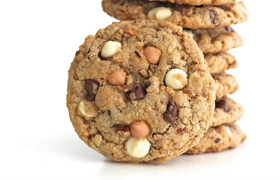 You can't go wrong with good ol' cowboy cookies! Everyone loves these loaded oatmeal cookieswithcrispy cornflakes cereal, sweet chewy coconut, crunchy pecans, and a triple play of melty chocolate, white chocolate and butterscotch chips. We're well into football season now and we've definitely got our game day groove going on every weekend. Saturdays are for …